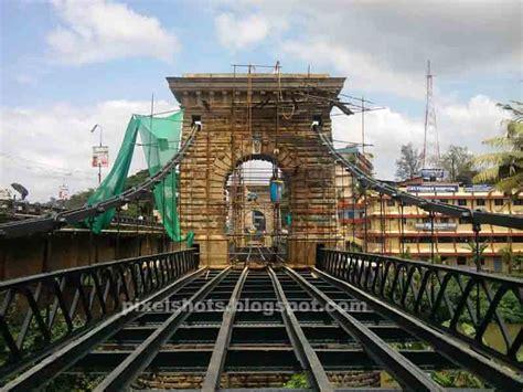 suspension bridgehanging bridge punalur kerala indian