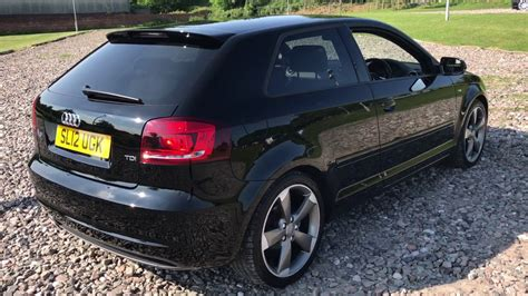 Where once there was dear mr. Audi A3 Black Edition S Line 2012 Manual - YouTube