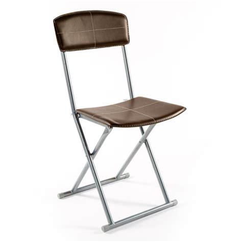 chaise pliante salle à manger chaise pliante boyeros marron