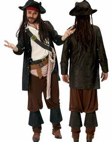 Davy Jones Kostüm : jack sparrow kost me fluch der karibik kost me funidelia ~ Frokenaadalensverden.com Haus und Dekorationen
