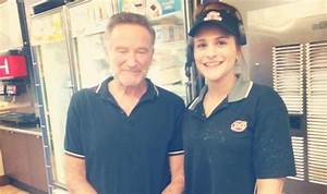 Robin Williams last photo: Tragic actor with staff at ...