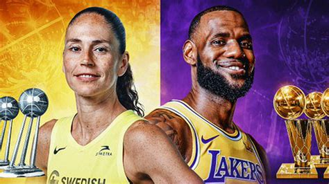 Latest on los angeles lakers small forward lebron james including news, stats, videos, highlights and more on espn. NBA: Sue Bird-LeBron James: cuatro anillos y 37 millones ...