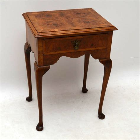 antique end tables for antique burr walnut side table la64548 loveantiques 7474