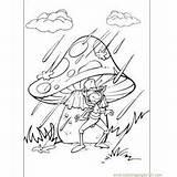 Mush Mushroom sketch template