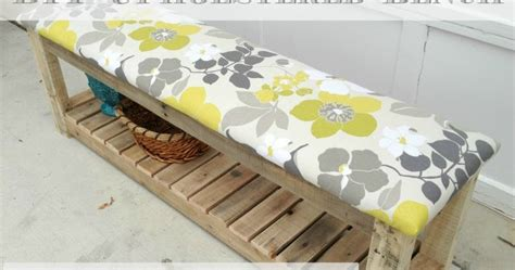 diy upholstered bench my 2 create
