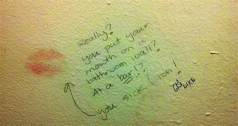 funny bathroom graffiti 12 pics pleated jeans