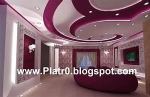 Best decoration des salon placoplatre images design for Salle de bain design avec décoration cinéma maison
