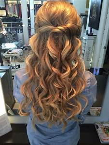Half Up and Half Down Hair Styles for Parties Womenitems