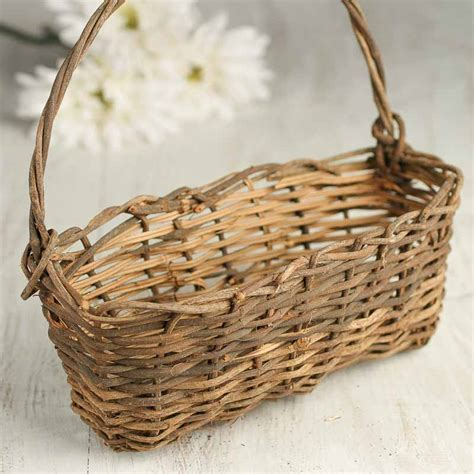 Wall Wicker Basket  Baskets, Buckets, & Boxes  Home Decor