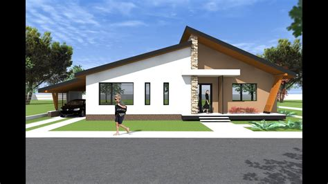 bungalow house design  model  modern bungalows