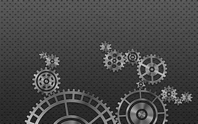 Gears Gear Wallpapers Automation Backgrounds Metallic Desktop