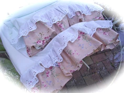 simply shabby chic pillow cases the polka dot closet romantic and ruffled pillow cases