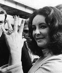 elizabeth taylors jewels to be auctioned off the skinny With liz taylor wedding ring