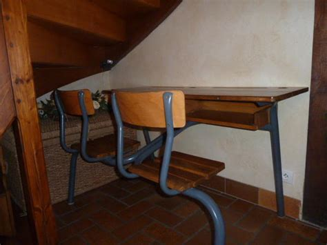 bureau ecolier ancien bureau 233 colier ancien 2 places
