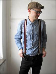 Josef H - Dressman Suspenders Jc Skinny Jeans Hu0026M Denim Shirt From A Friend Awesome Old Mans ...
