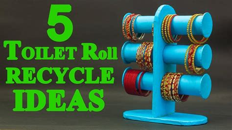 toilet paper rolls recycle ideas