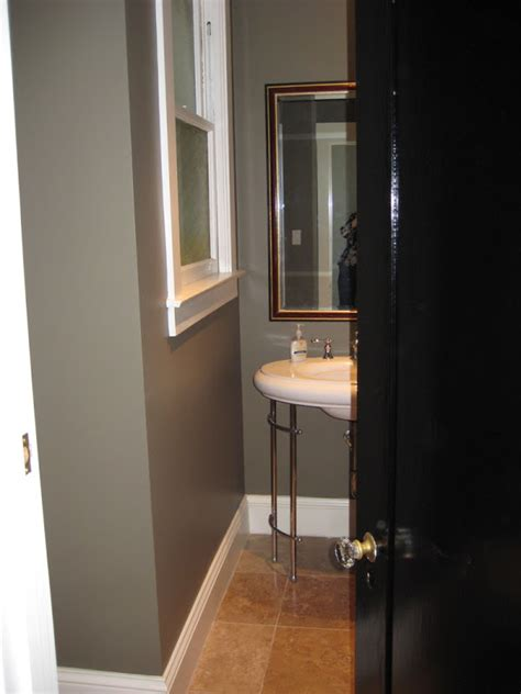 positively perfect powder room makeover