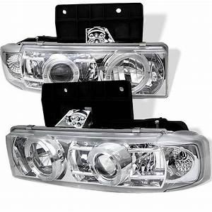 Spyder Auto Chevy Astro 95-05    Gmc Safari 95-05 Projector Headlights - Led Halo