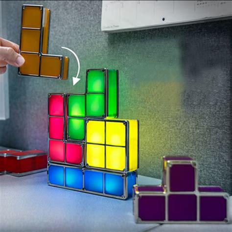 diy tetris constructible game desk l retro blocks