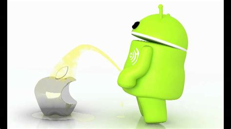 apple on android android showing apple who s