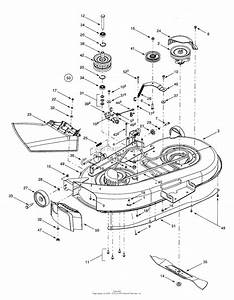 Mtd 13bk608g062  2001  Parts Diagram For Deck Assembly  U0026quot G U0026quot