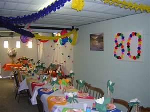 Deco Table Anniversaire Femme : decoration d anniversaire d 39 anniversaire idee ~ Melissatoandfro.com Idées de Décoration