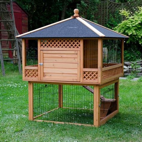 17 best ideas about large rabbit hutches on