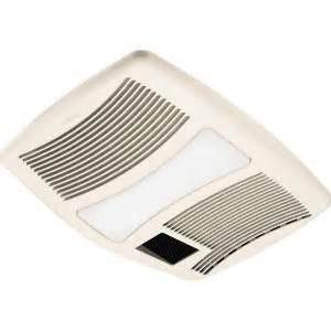 Home Depot Bathroom Exhaust Fan Heater by Ultra Silent 110 Cfm Ceiling Exhaust Fan With Light And