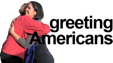 How to say HELLO! Greet Americans - Rachel's English