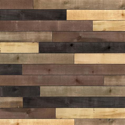 ufp edge distressed  sq ft accent wood wall plank kit