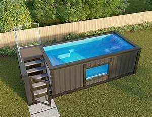 Pool Aus Container : shipping container pools make swimming trendy ~ Orissabook.com Haus und Dekorationen