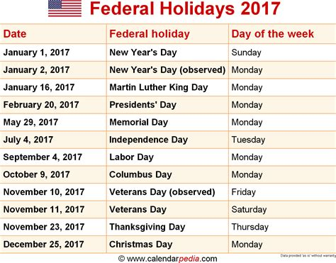 federal holidays png   images