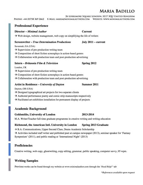 how to write an american resume 28 images luck with