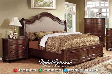 tempat tidur jati set minimalis modern mebel jepara mewah