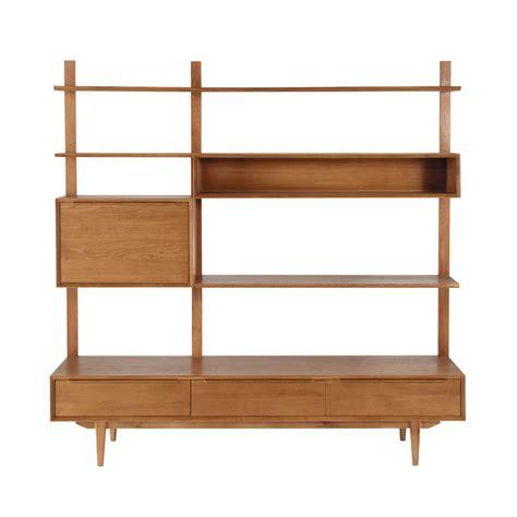 201 tag 232 re meuble tv vintage en ch 234 ne massif l 180 cm portobello maisons du monde