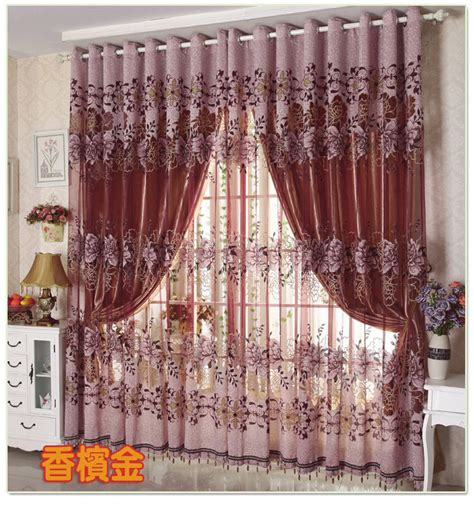 customize curtains drapes valance luxury lined curtain set
