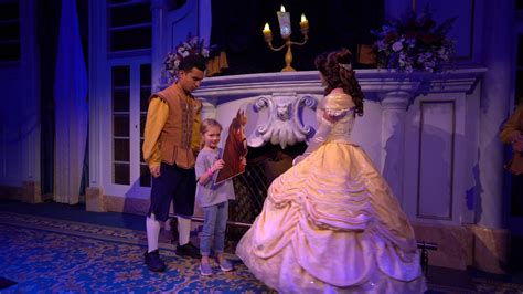 Enchanted Tales with Belle at Magic Kingdom 2017 - Daisy ...