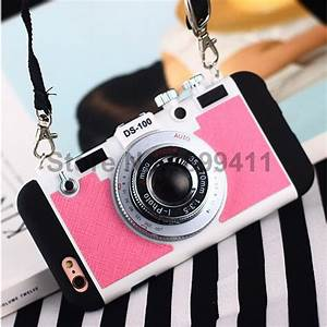 Cool Luxury 3D Camera Case For iPhone 5 5S SE 6 6s 6 Plus ...