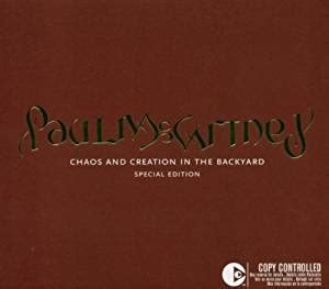 Chaos And Creation In The Backyard by Paul Mccartney Chaos And Creation In The Backyard