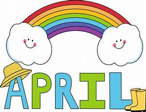 April Clip Art - April Images - Month of April Clip Art