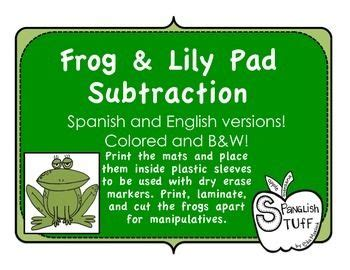 frogs  lily pads  images basic math