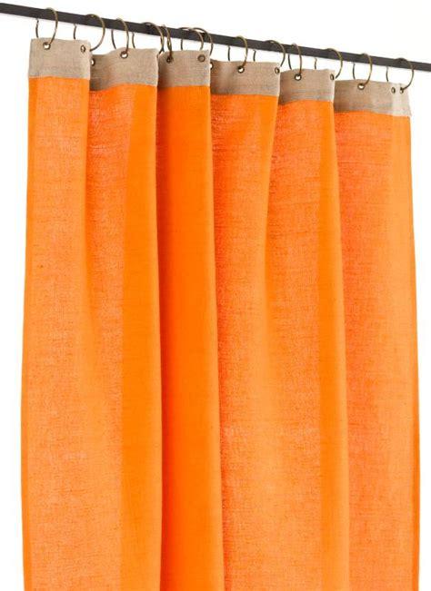 rideaux ombre lumi 232 re orange