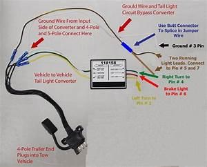 4 Pin Flat Trailer Wiring Diagram Throughout 4 Prong Trailer Wiring Diagram