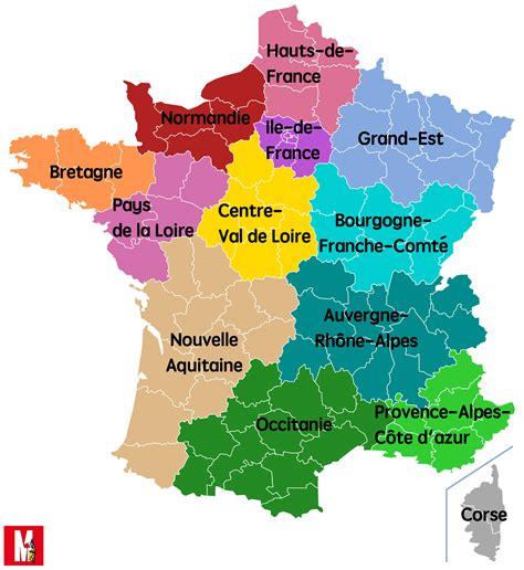 Carte Nouveau Monde 2017 by Nouvelle Carte Des R 233 Gions De Carte 2018