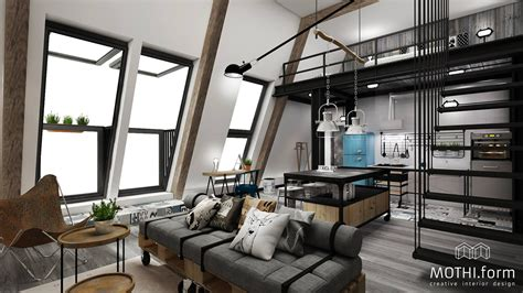 Industrial Loft by For Interior Design