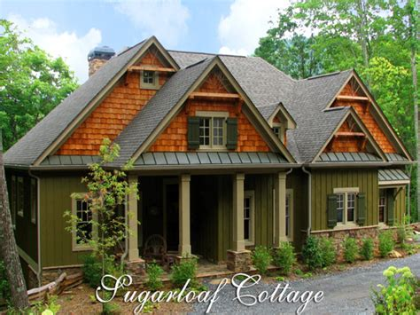 French Country Cottage House Plans Mountain Cottage House