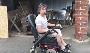 Richard Hammond has a modified wheelchair following Rimac
