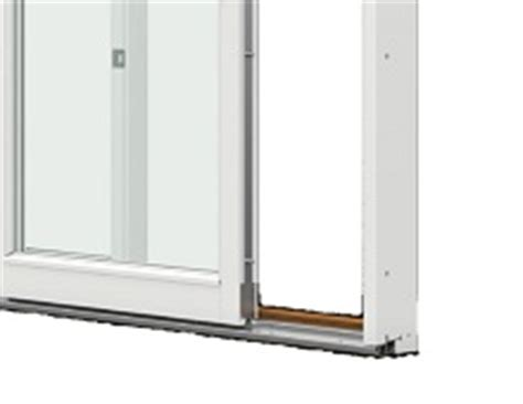 sliding patio doors reveal