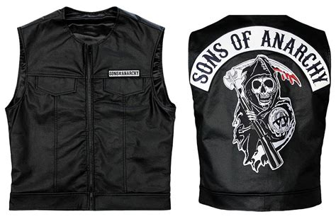 Sons Of Anarchy Official Vest Officially Licensed Jax