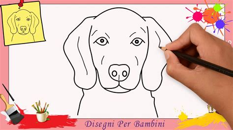 disegnare  cane facile passo  passo  bambini